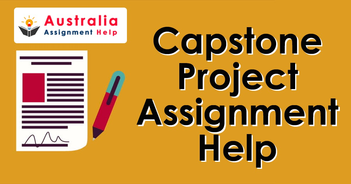 Capstone project assignment help